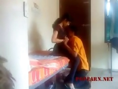 desi gf with bf in room