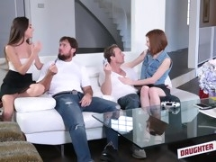 Let's Cum With Jaw-Dropping Mature+Young Foursome Porn Clip