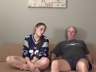 daddy's little girl shows him she's not a tomboy