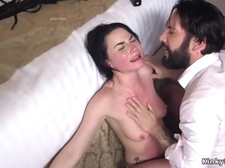 Corrupted agent anal fucks his colleague
